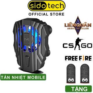 Quạt tản nhiệt điện thoại SIDOTECH Memo FL01 làm mát nhanh cho điện thoại gaming game thủ mobile pin 500mah có LED RGB thumbnail