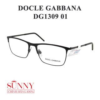 DG1309- gọng kính dolce & gabbana chính hãng có tem thẻ bảo hành toàn quốc