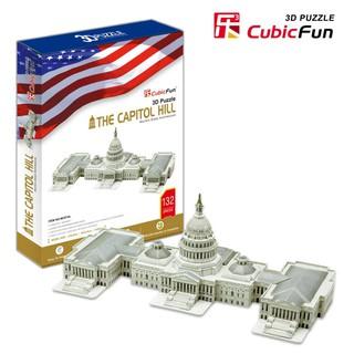 Mô hình giấy 3D CubicFun – Thượng viện Hoa Kỳ -The Capitol Hill (MC074h)