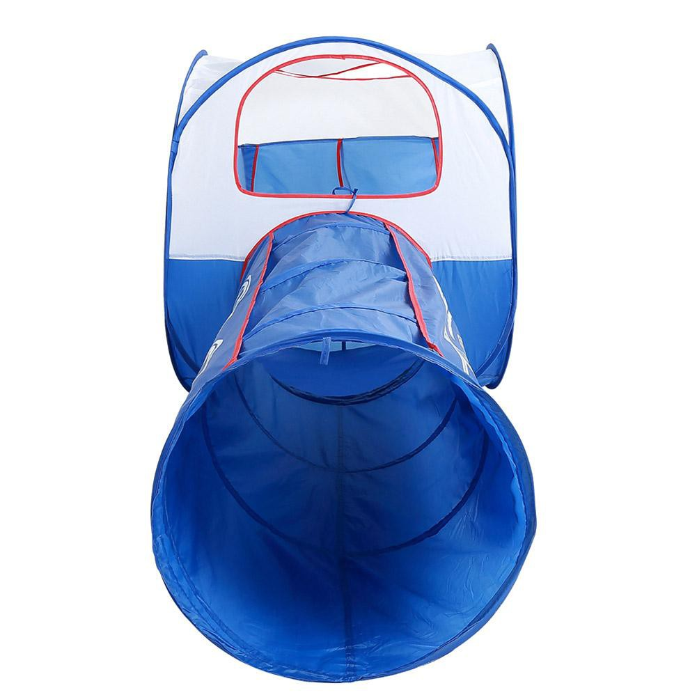 babifry Train Tunnel Pop-up Tent Portable Pool Foldable Outdoor Play House Tube Toy