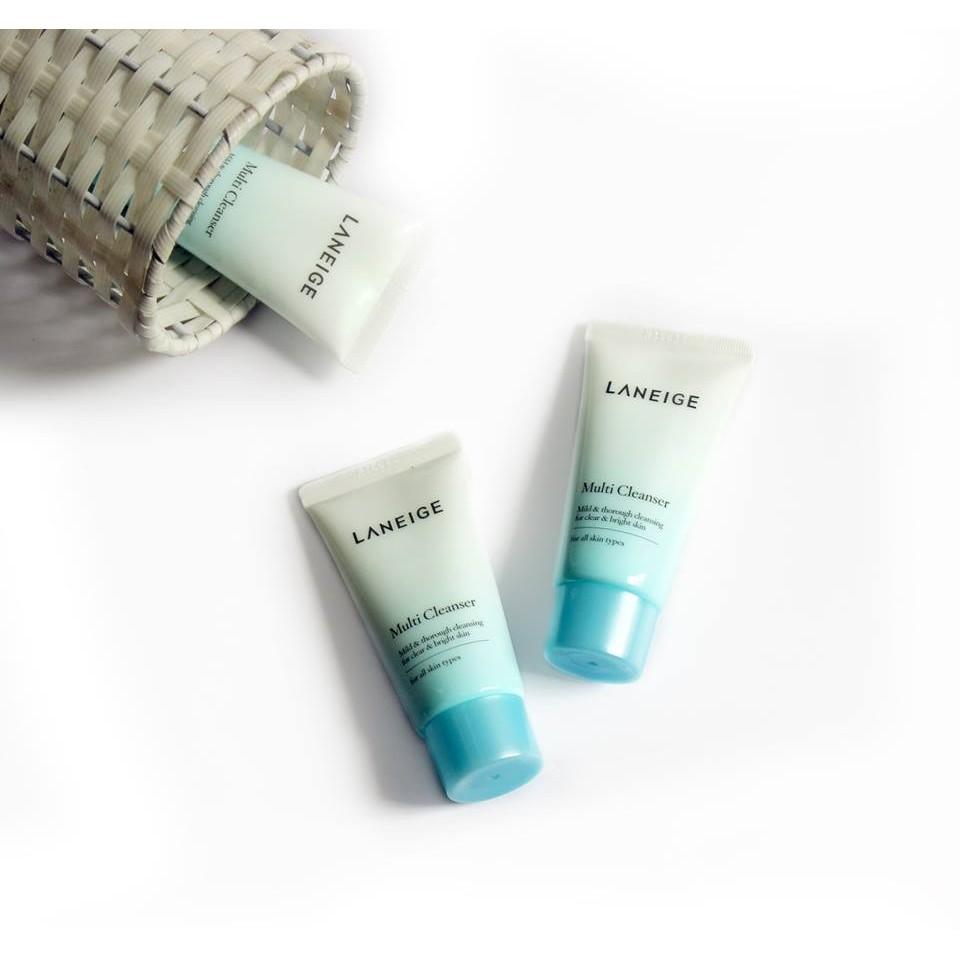 Sữa rửa mặt Laneige Multi Cleanser 4 in 1 (mini size) - 2449630 , 229545570 , 322_229545570 , 60000 , Sua-rua-mat-Laneige-Multi-Cleanser-4-in-1-mini-size-322_229545570 , shopee.vn , Sữa rửa mặt Laneige Multi Cleanser 4 in 1 (mini size)