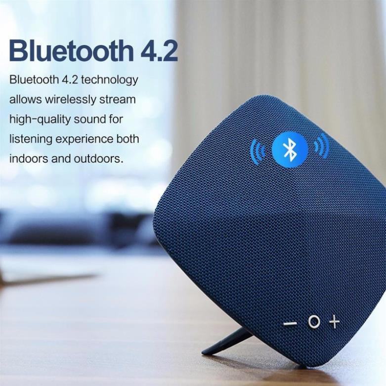 [Mã ELMALLR7 hoàn 10% xu đơn 300K] Loa Không dây Bluetooth Rockspace RAU0580 màu ghi xám