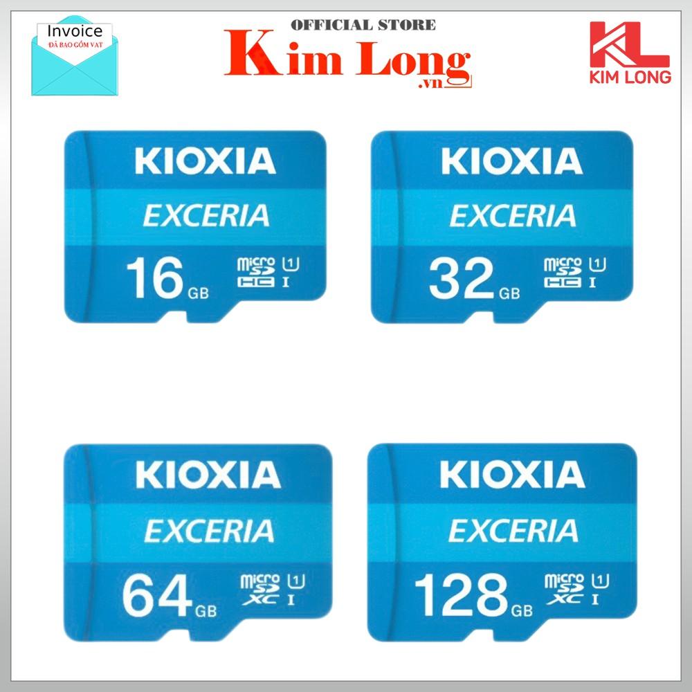 Thẻ nhớ Kioxia (Toshiba) Micro SDHC 16GB 32GB 64GB C10 UHS-I 100MB/s - FPT phân phối