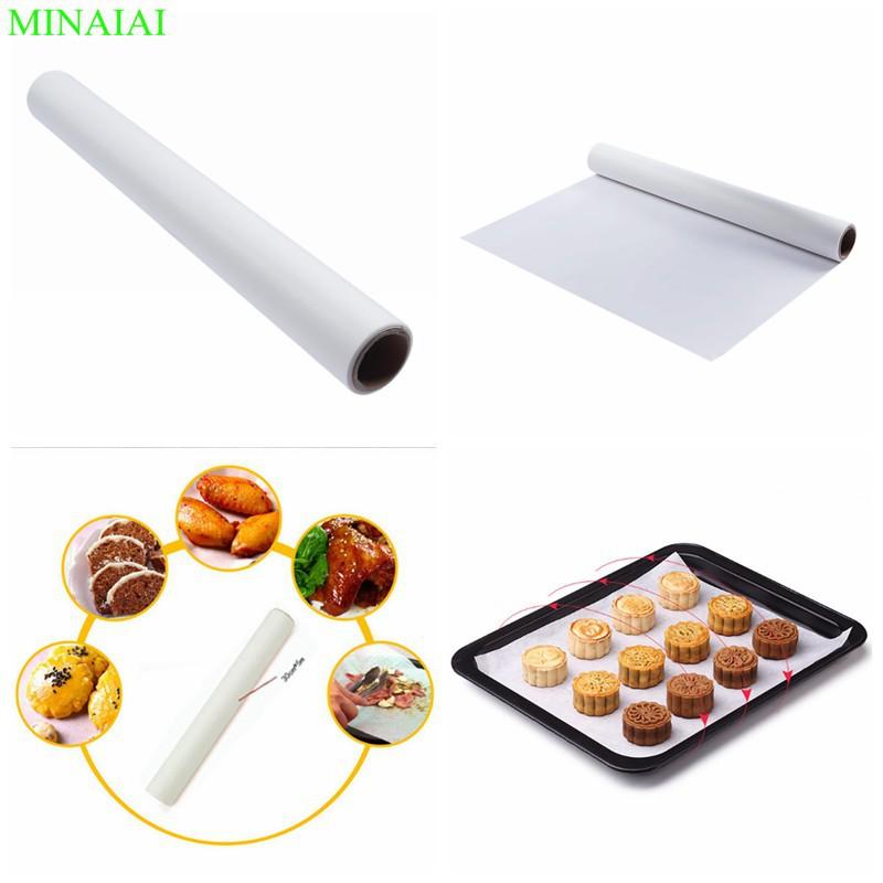 Giấy lót nướng bánh 30cm*5m/Giấy nến nướng bánh/Baking paper
