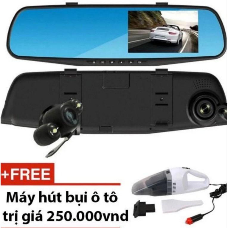 Camera hành trình cao cấp dành cho xe ô tô có vạch kẻ đường + Tặng kèm máy hút bụi ... Khuyến mãi đặ