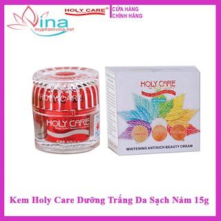 Kem Holy Care Dưỡng Trắng Da Sạch Nám 15g thumbnail