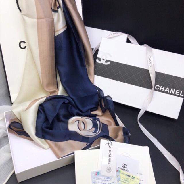 Khăn lụa Chanel siêu cấp