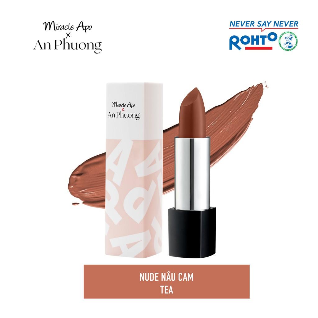 Son thỏi Miracle Apo x An Phương Holiday Collection Lipstick 4g