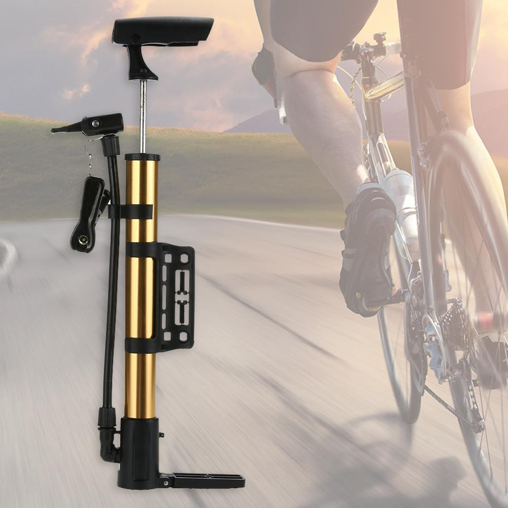 Ống bơm xe đạp mini làm từ hợp kim nhôm siêu nhẹ