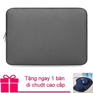 Túi chống sốc Macbook 13 inch (Xám) - Tặng miê ng lo t chuô t thumbnail