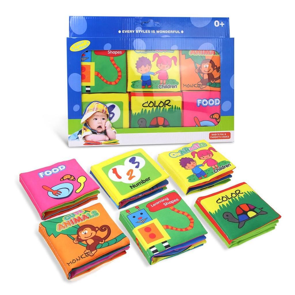 Đồ chơi trẻ em Sách vải mềm Giáo dục trẻ sơ sinh