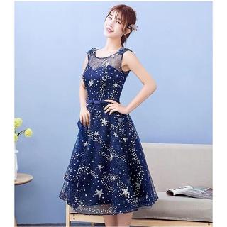 Đầm Voan dạ hội thời trang sang chảnh quý phái siêu hot đầm thời trang váy đầm