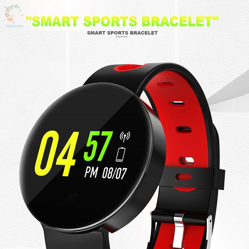 [BEST] Smart Bracelet Color Screen Sleep Monitoring Health Sports Bracelet Bluetooth Pedometer