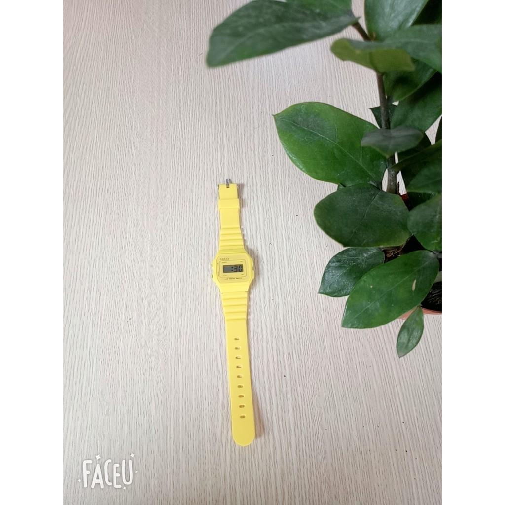 Đồng Hồ Điện Tử Unisex DH11 Dây Nhựa Dẻo Thời Trang