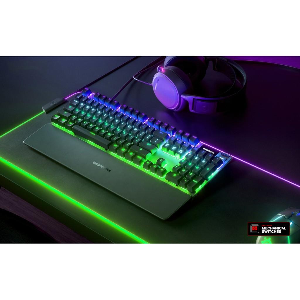 Bàn phím cơ Steelseries Apex 7 Mechanical Gaming Keyboard Red Switch / Blue Switch