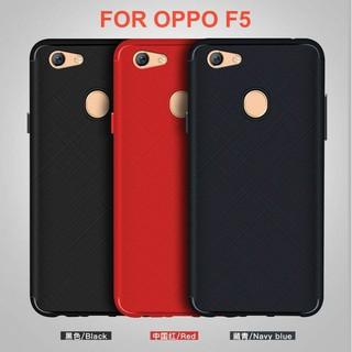 Ốp Lưng Dẻo Vân Xước OPPO F5