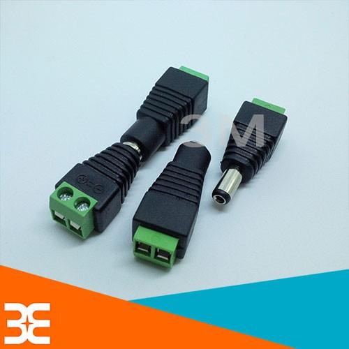 [Tp.HCM] Bộ 4 Jack nối nguồn 5.5x2.1mm (2 Jack cái +2 Jack đực )