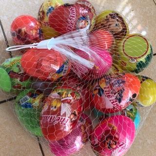 Trứng khủng long có đồ chơi và kẹo 1 quả