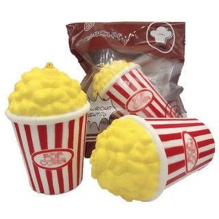 BOBORA Cute Popcorn Soft Slow Toy Rising Squeeze Bag Kid Toy Fun Gift