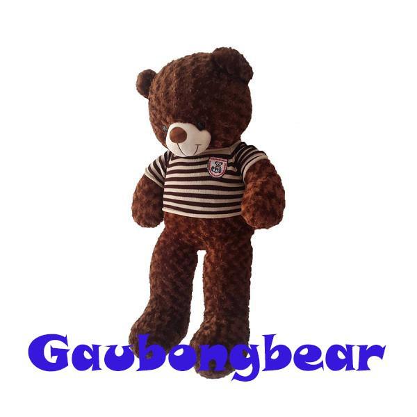 SALE Gấu bông Teddy Cao Cấp khổ vải 80cm Cao 60cm màu Nâu hàng VNXK