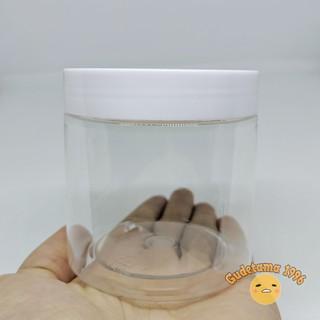 [Mã TOYFSS4 giảm 15k] Hộp Đựng Slime Kiểu Mỹ 200 Gram Nắp Trắng Nhựa Cứng Trong S