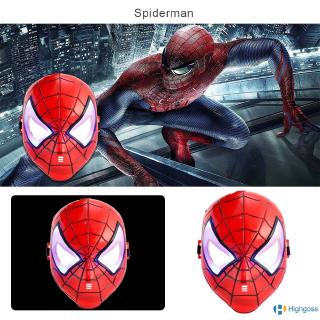 【COD】 Avengers Mask Shine Spider-Man Iron Man Captain America
