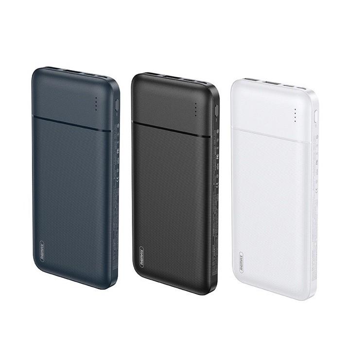 Pin Dự Phòng 10000mah Remax RPP-96 Garie Series Fast Charing 2.1A tích hợp 2 cổng USB