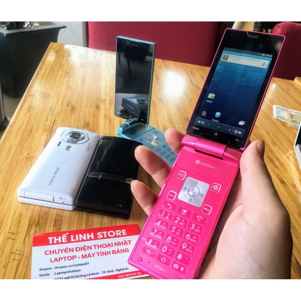 Điện thoại Nhật Sharp 007SH nắp gập cảm ứng,xoay 180 độ,Màn 3D - Chạy Android - 3444894 , 952171938 , 322_952171938 , 1688000 , Dien-thoai-Nhat-Sharp-007SH-nap-gap-cam-ungxoay-180-doMan-3D-Chay-Android-322_952171938 , shopee.vn , Điện thoại Nhật Sharp 007SH nắp gập cảm ứng,xoay 180 độ,Màn 3D - Chạy Android