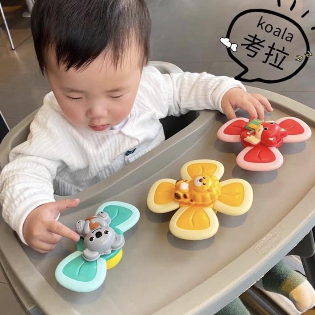 Set 3 đồ chơi con quay spinner hình côn trùng vui nhộn cho bé – Munkids