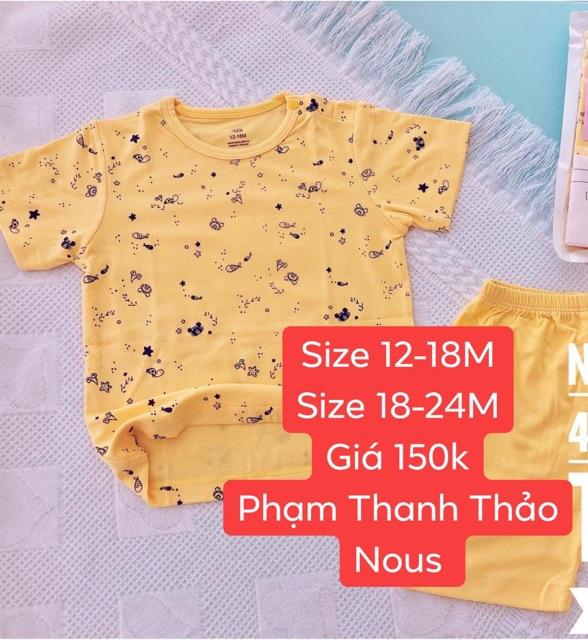 Bộ Cộc Tay Nous Size Lớn 2019 - Shop M