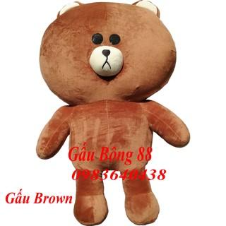 Gấu bông Brown siêu bự Khổ vải 1m7 – Chiều cao 1m5 – Hàng cao cấp siêu đẹp