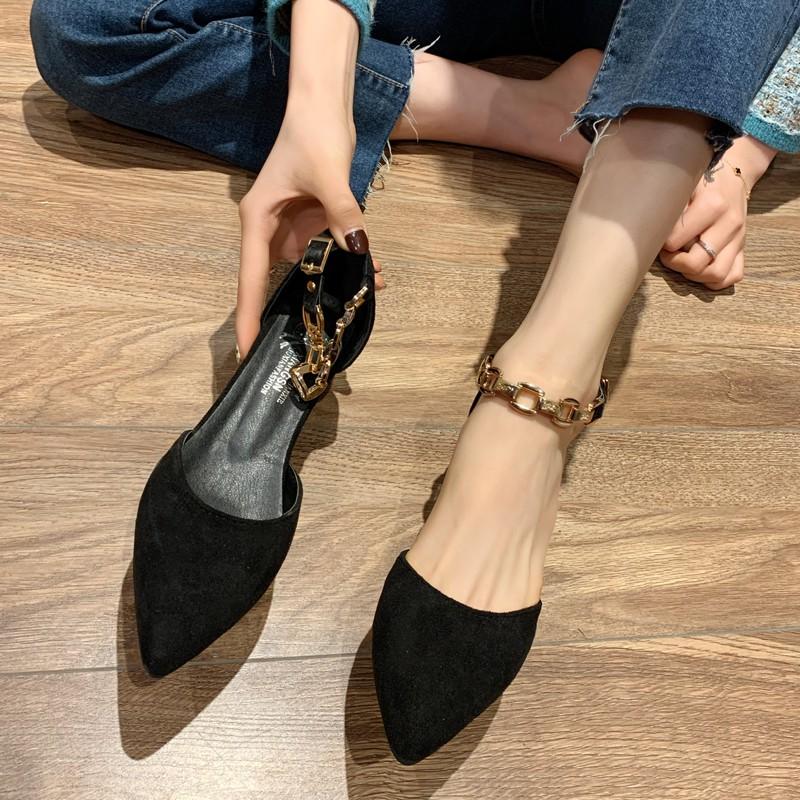 Giày Cao Gót Thời Trang Hàn Cho Nữ 2020