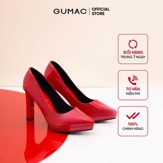[Mã WABR44H giảm 15% đơn 599K] Giày cao gót nữ đế đúp GUMAC thiết kế sang chảnh cao 10cm GD227 thumbnail