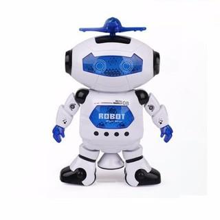 Robot Biết Nhảy Và Hát Xoay 360 Độ US04019 (Free Ship Trên 99k)