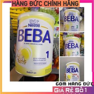 🌈(Bill Đức)Sữa Nestle #BEBA #Optipro Pre, 1, 2, 3, 1+, 2+ 800g- Nội Địa Đức🔥