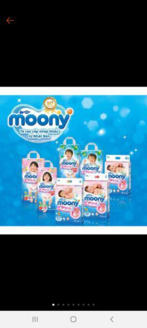 Đánh giá sản phẩm  Tã - Bỉm Quần/Dán Moony Không Quà Các Size NB90/S84/M64/L54/M58/L44/XL38/XXL26 của cus.trangntk