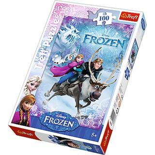Tranh ghép hình TREFL 16273 – 100 mảnh – Frozen Giải cứu Anna