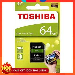 Thẻ nhớ SD Toshiba N203 64GB UHS-I U1 100MB/s full HD