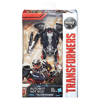 Mô hình Transformer The Last Knight Premier Edition Deluxe Hot Rod