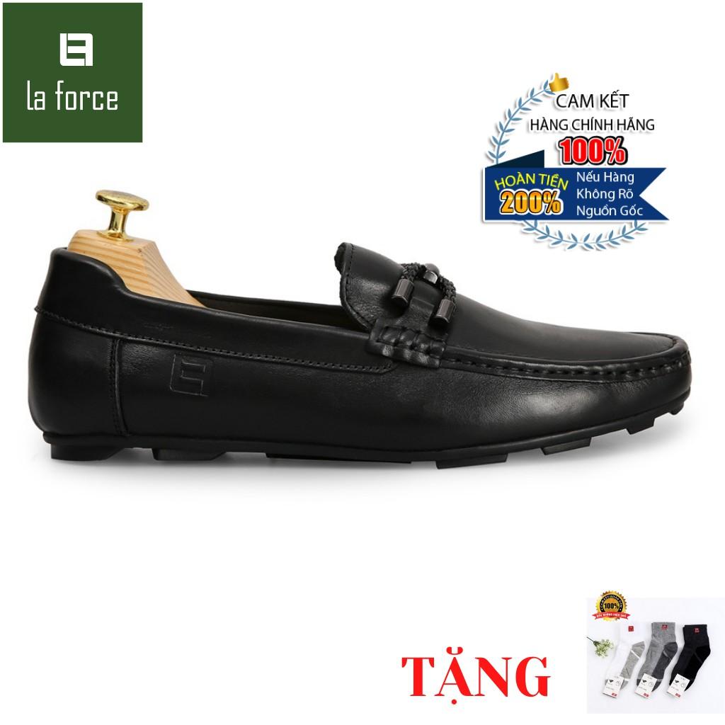 Giày Lười Nam LAFORCE Kiểu Dáng Bit Loafer GNLA678-2-D Tặng Tất UNIQLO Cao Cấp