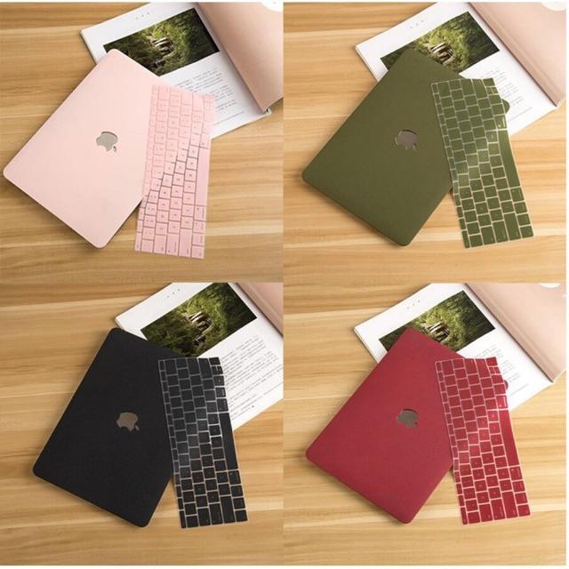 Combo CASE và Bàn phím phủ macbook