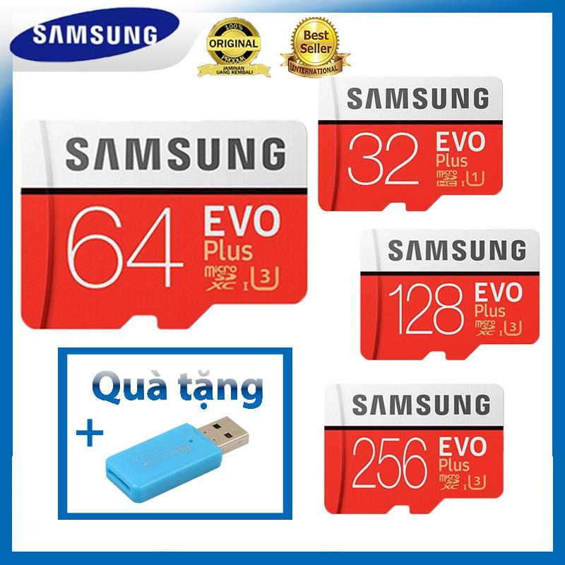 Thẻ nhớ Samsung EVO Plus 32GB/64GB/128GB/256GB tốc độ cao