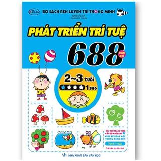 Sách- 688 câu đố phát triển trí tuệ cho bé (cuốn 1 sao) thumbnail