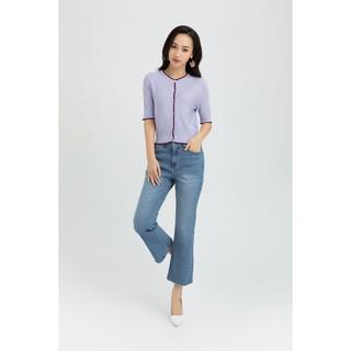 IVY moda Áo khoác len dáng ngắn MS 77B7188 thumbnail