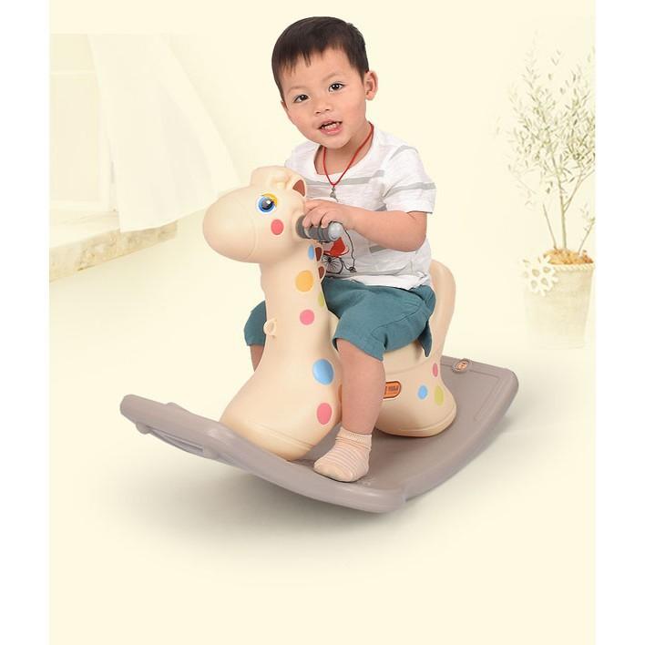 [KAS] Ngựa bập bênh cho bé có đèn có nhạc Giảm giá