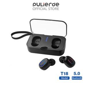 Tai nghe thể thao Pulierde T18 nhét tai không dây Bluetooth 5.0 kích thước nhỏ gọn