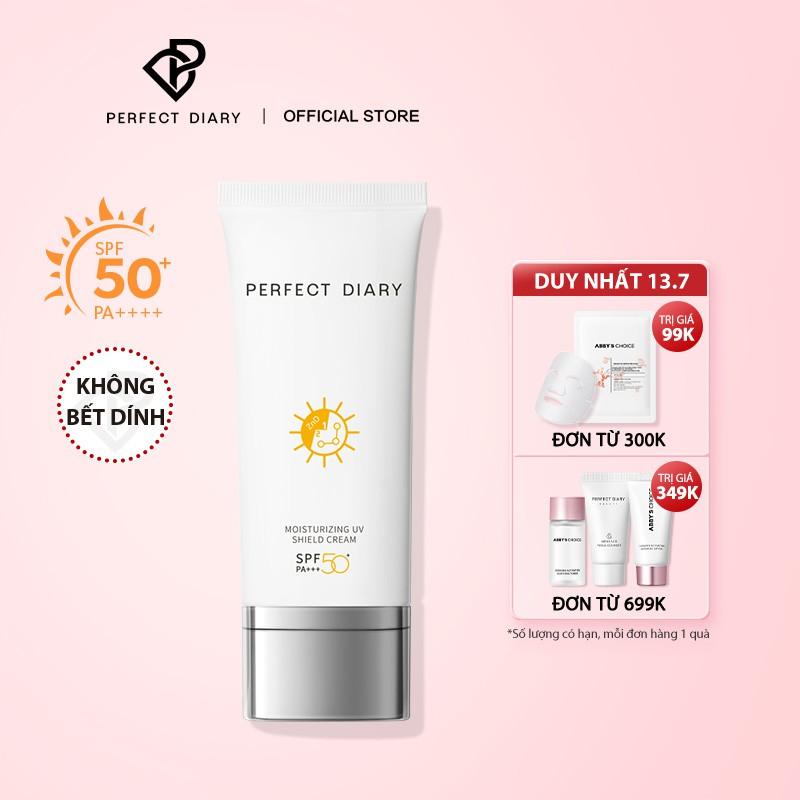 Kem chống nắng PERFECT DIARY SPF50+ bảo vệ khỏi tia UV PA+++ dưỡng ẩm 60ml