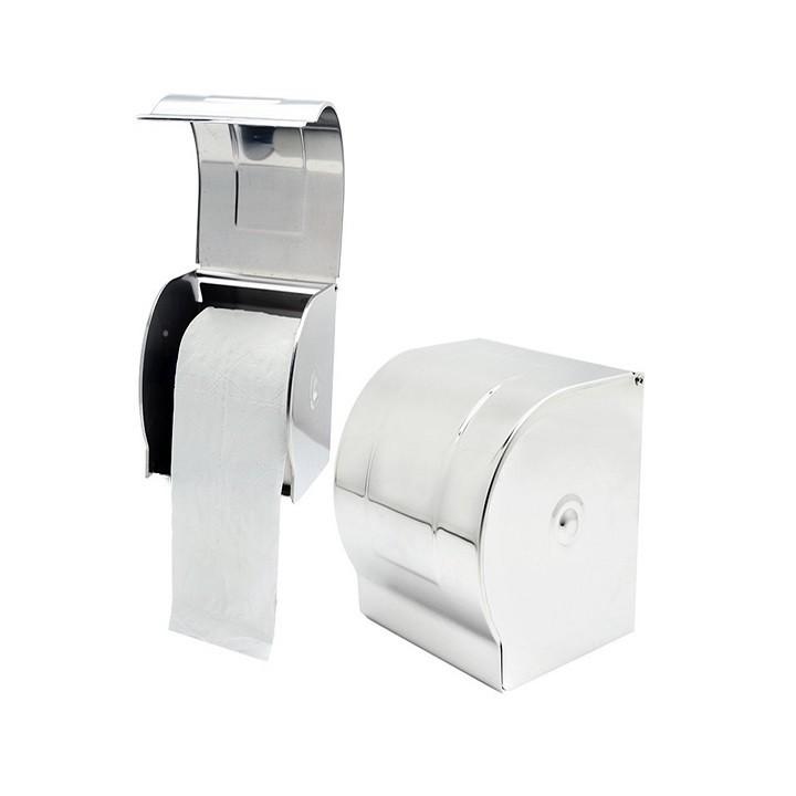 Hộp đựng giấy vệ sinh inox gắn tường cao cấp, chống ướt giấy không hoen gỉ trong môi trường chất tẩy rửa