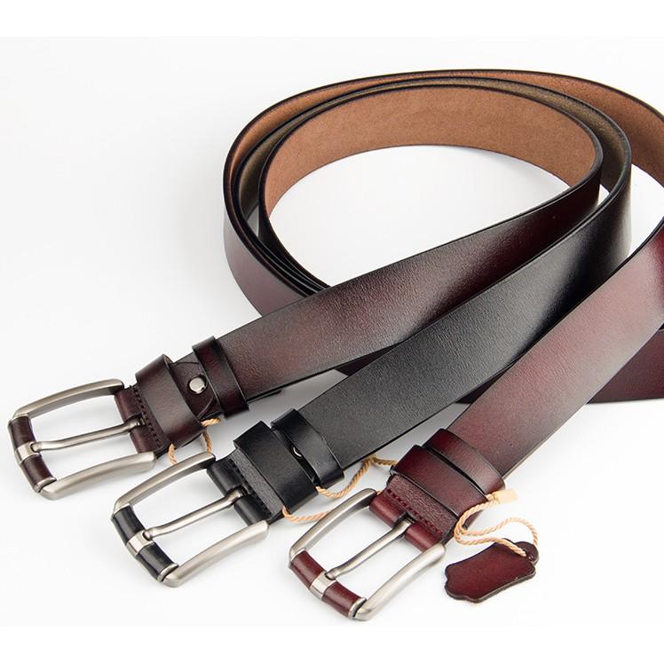 Combo 2 dây nịt nam cá tính thời trang, dây thắt lưng, dây nịt