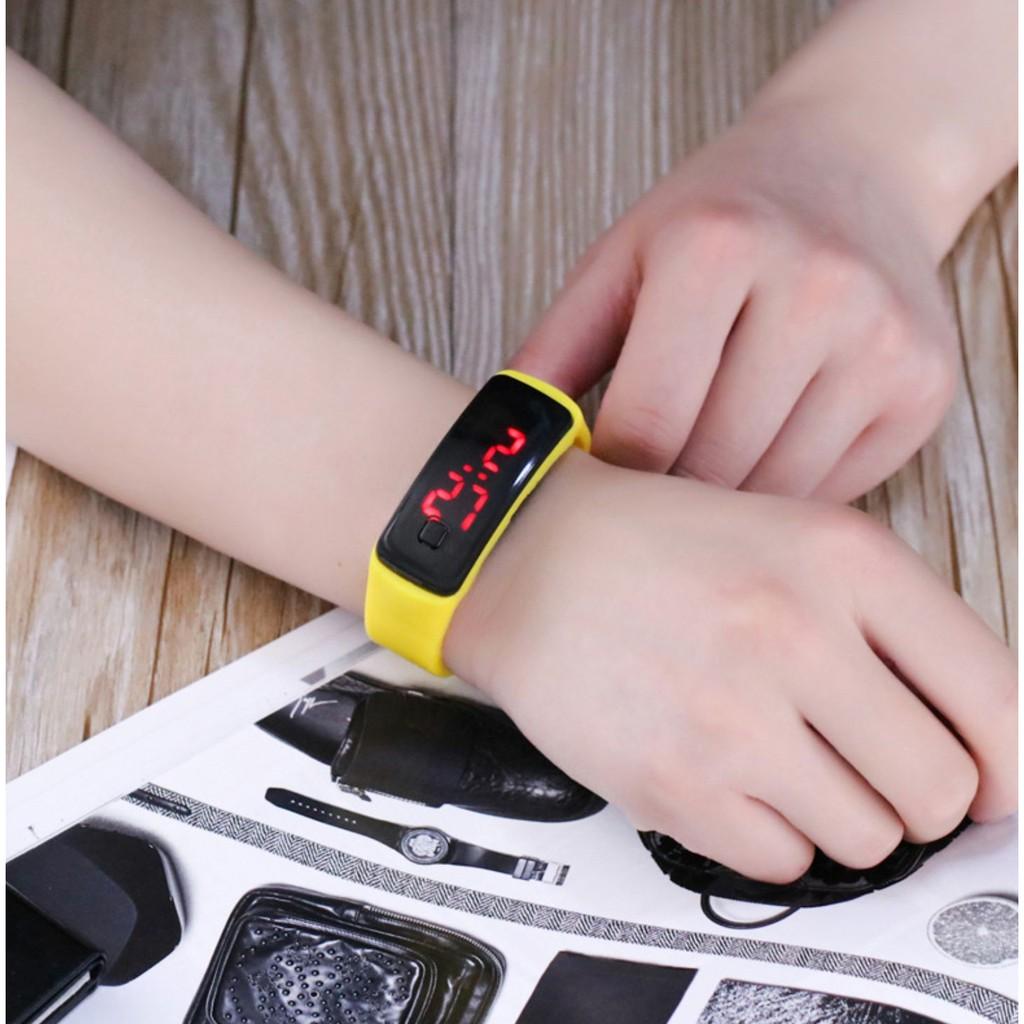 Đồng hồ thông minh đèn LED độc đáo - Đồng hồ đèn LED cho trẻ em